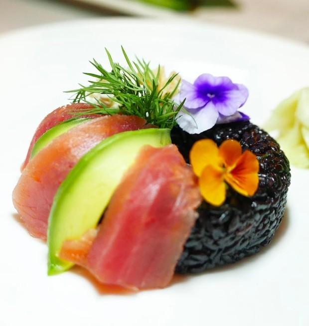 Donut de sushi (Foto: Reprodução/Instagram)