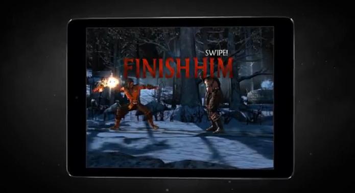 Mortal Kombat X ganhará versão híbrida para iOS e Android em abril (Foto: Reprodução/YouTube)