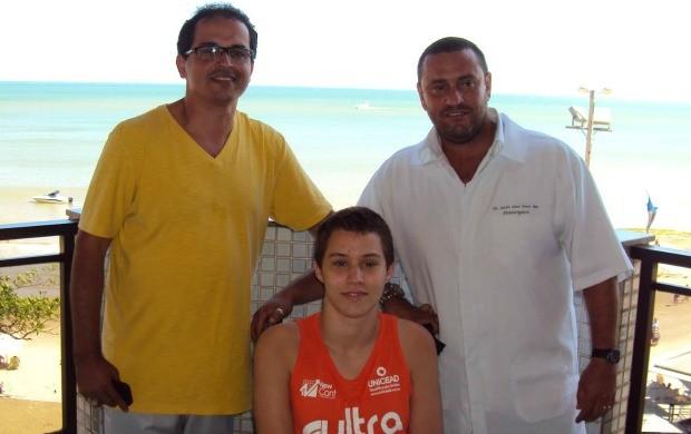 Gabriel Diniz, lutador de jiu-jítsu que lesionou a coluna em agosto (Foto: Divulgação/Facebook)