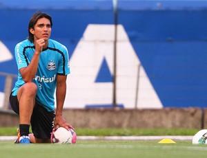 Marcelo Moreno, atacante do Grêmio (Foto: Lucas Uebel/Grêmio, Divulgação)