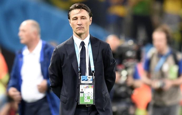 Niko Kovac técnico Croácia jogo Brasil (Foto: AFP)