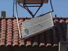 Frio estraga aquecedores solares de mais de 40 casas em Campanha, MG