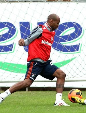 Marcos Junior, Wellington Silva e Samuel treino Fluminense (Foto: Nelson Perez / Flickr Fluminense)