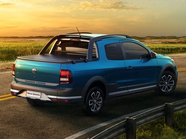 Volkswagen Saveiro Cross 2017 (Foto: Divulgação)