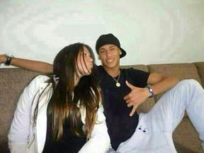Laryssa Oliveira e Neymar (Foto: Divulgação)