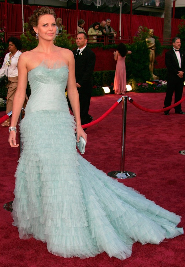 Charlize Theron - Dior - 2005 (Foto: Getty Images)