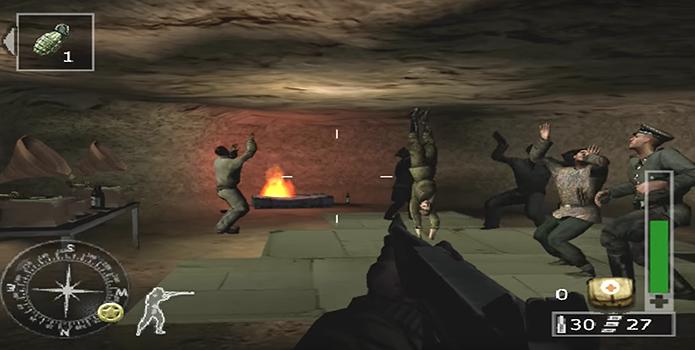 Encontre soldados dançando em Call of Duty: Finest Hour (Foto: Reprodução/YouTube)