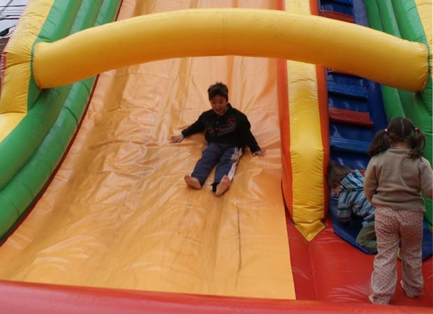 Espaço infantil do evento será ampliado e diverte crianças enquanto os pais conhecem a feira (Foto: Divulgação)