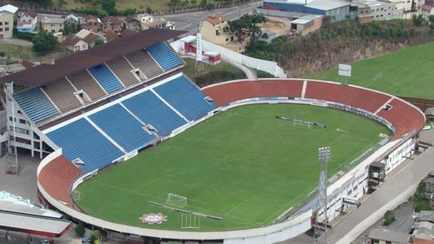 Estádio Centenário, em Caxias do Sul  (Foto: Inter / DVG)