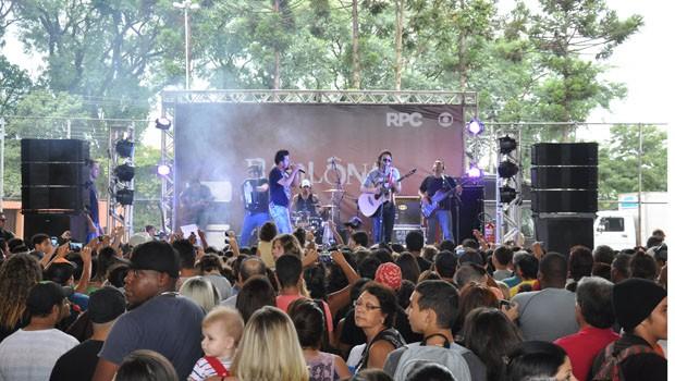 A dupla Douglas e Murilo é a primeira atração da festa (Foto: Divulgação/ RPC)