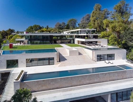 Segundo a imprensa americana, a casa é uma das mais caras dos Estados Unidos atualmente (Foto: Reprodução)