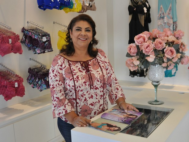 Gorete Santos é dona de uma das mais importante empresas de MS (Foto: Marcos Ribeiro/TV Morena)
