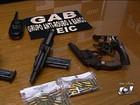 Polícia apresenta suspeitos de assalto a banco e sequestro em Goiás