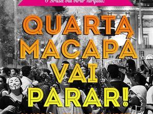O movimento ganhou força pelas redes socias através de compartilhamentos de banners (Foto: Reprodução/Movimento Vamos à Luta)