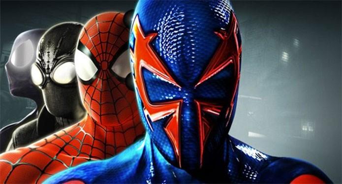 Spider-Man Shattered Dimensions leva quatro heróis a uma nova aventura (Foto: Divulgação)