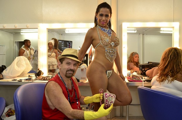 Kiko Alves e tapa sexo (Foto: Roberto Teixeira/ EGO)