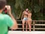 Priscila Pires tem corpo moldado pelo namorado, o coach João Reis