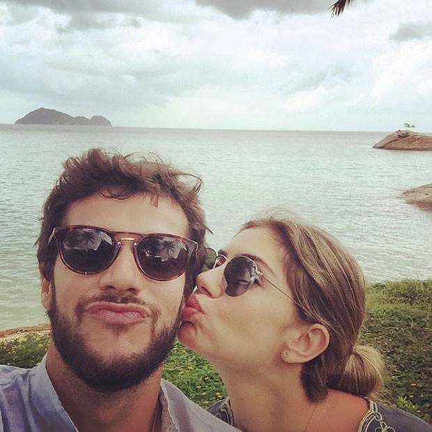 Jayme Matarazzo curte lua de mel com Luiza Tellechea na Tailândia (Foto: Instagram/ Reprodução)