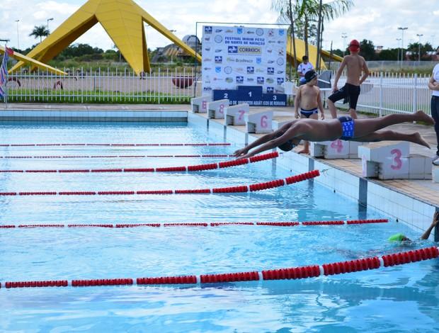 Torneio Mirim e Peiz de natação (Foto: Alberto Rolla)