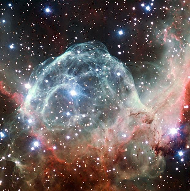 Nebulosa Elmo de Thor (Foto: ESO/Divulgação)