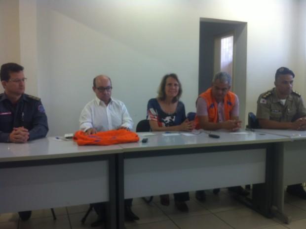 Governador Valadares (MG) apresentou plano de emergência para abastecimento de água na cidade. (Foto: Sávio Scarabelli/G1)