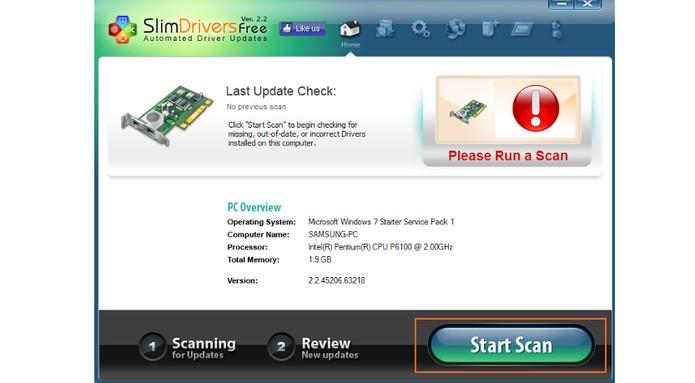 Inicie a análise em busca de drivers no seu computador (Foto: Reprodução/Barbara Mannara)