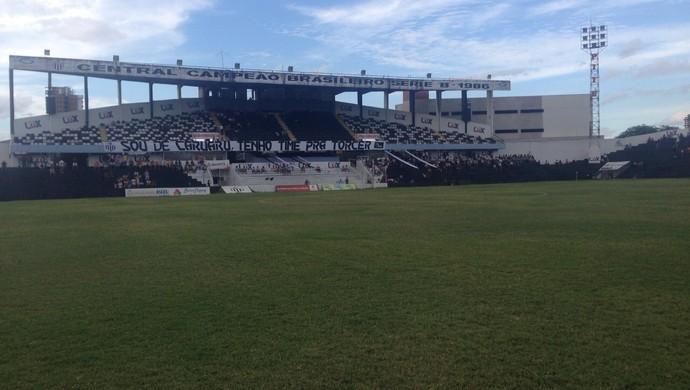Central x Atlético-PE (Foto: André Ráguine / GloboEsporte.com)