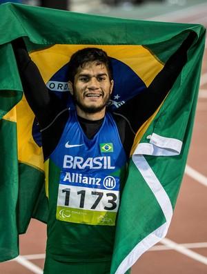 Na história: Yohansson Nascimento conquista a sétima medalha em Mundiais (Foto: Daniel Zappe/CPB)
