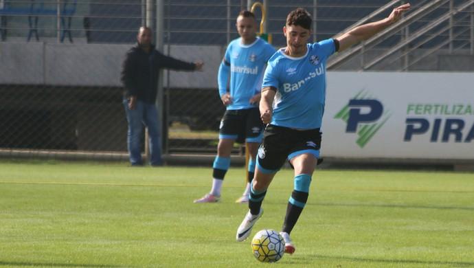 Grêmio Giuliano treino Grêmio (Foto: Eduardo Deconto/GloboEsporte.com)