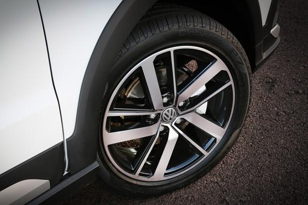 Volkswagen Fox Xtreme 2018 roda (Foto: Divulgação)