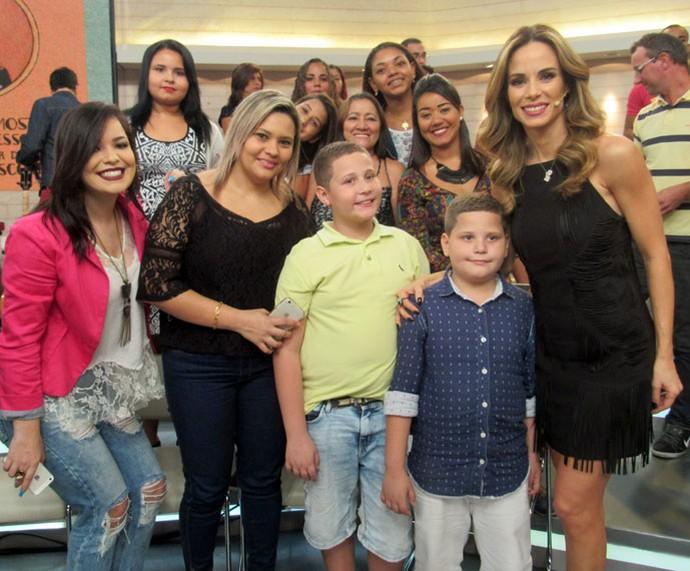 Mais plateia do 'Encontro' com a Ana Furtado (Foto: Carolina Morgado/Gshow)