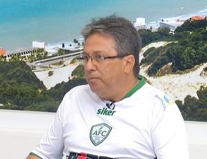 Osvaldo Trigueiro Filho - presidente eleito do Alecrim (Foto: Reprodução/Inter TV Cabugi)