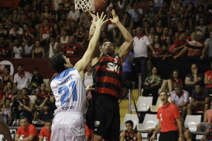 Flamengo x Rio Claro, basquete, NBB, Ginásio do Tijuca (Foto: Gilvan de Souza/Flamengo)