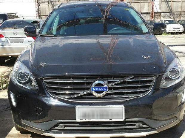Volvo pertencia ao doleiro condenado na Lava Jato Carlos Habib Chater (Foto: Divulgação)