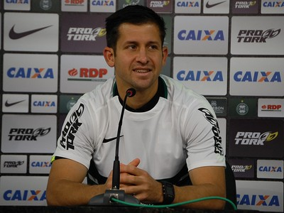 Cesar González Coritiba (Foto: Thiago Ribeiro)