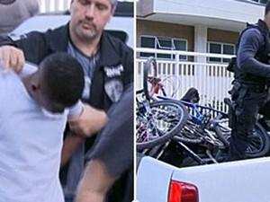Menor foi apreendido por morte de médico (Foto: Reprodução / Globo)