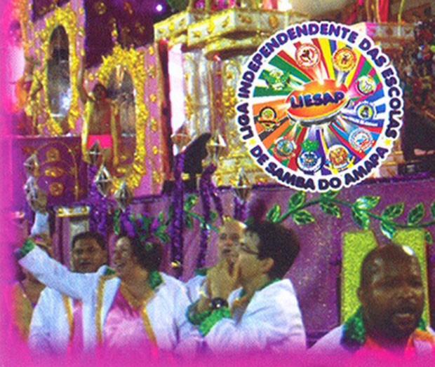 Randolfe Rodrigues é capa de cd das escolas de samba do Amapá (Foto: Reprodução)