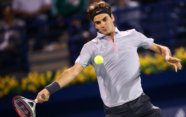 tênis roger federer atp de dubai (Foto: Agência AFP)