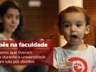 Mães querem direito de levar os filhos para salas de aula em universidades