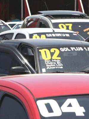 Feira de carros usados Veículos Varejo (Foto: Agência Estado)