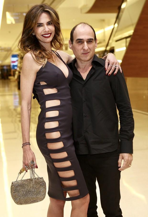 Luciana Gimenez e Amir Slama (Foto: Manuela Scarpa/Brazil News)