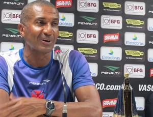 Cristovão borges treinador do vasco (Foto: Gabriel Fricke / Globoesporte.com)
