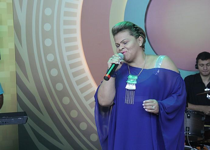 Sandrinha Andrade tem 25 anos de carreira (Foto: Katiúscia Monteiro/ Rede Amazônica)