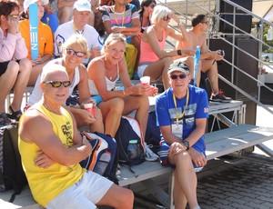 Estrangeiros Mundial de Atletismo Master (Foto: Paula Menezes/Globoesporte.com)