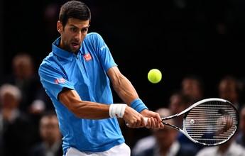 De virada, Djokovic passa por Dimitrov e avança às quartas de final em Paris