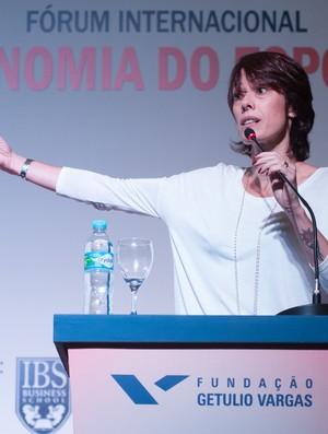 Adriana Behar ex jogador de volei de praia Forum Internacional Economia do Esporte (Foto: Andre Telles/FGV)
