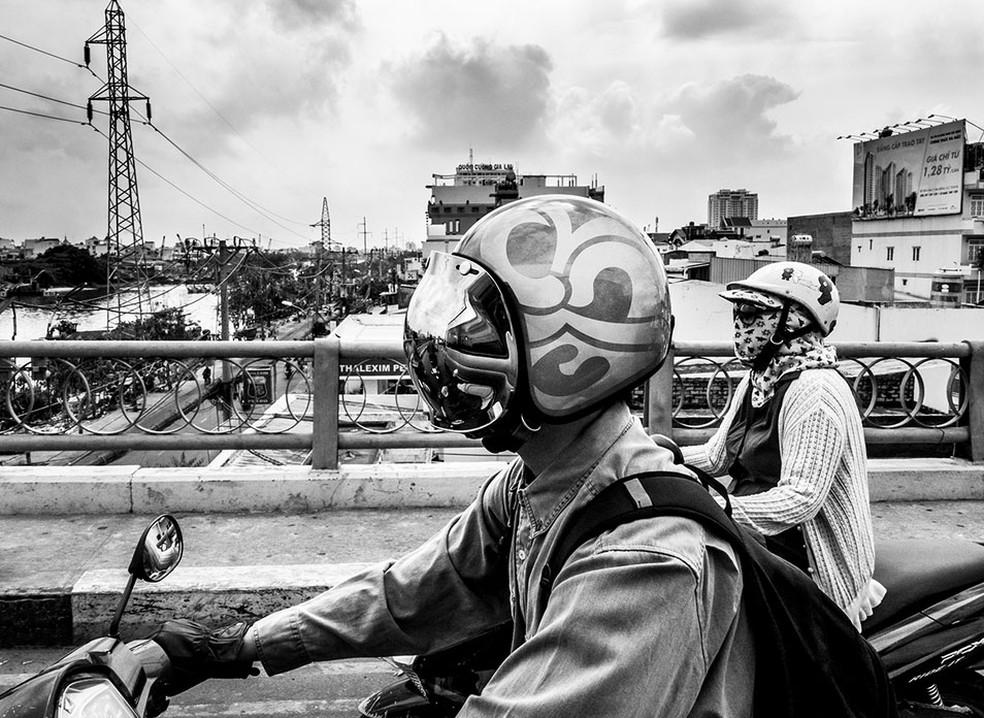 Foto da exposição 'Cycle', de Julian Lennon (Foto: Divulgação / Julian Lennon / Leica Gallery)