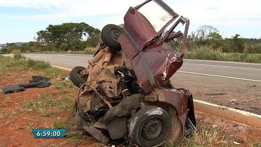 Sobrevivente lamenta acidente com 5 mortos na BR-060: 'Triste demais'