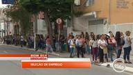 Esperança de emprego leva milhares a fila gigantesca em loja de Caçapava