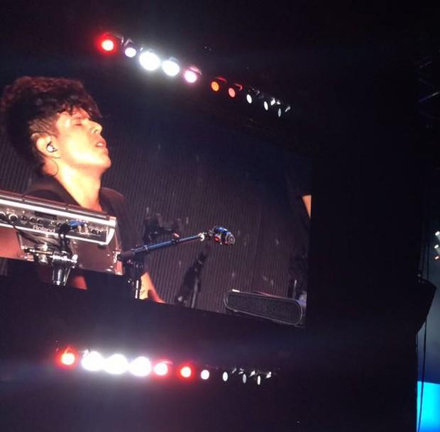 Rudy Mancuso abriu apresentação de Justin Bieber no Rio (Foto: QUEM)